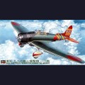 1:48 Hasegawa 09055 Японский палубный пикирующий бомбардировщик Aichi D3A1 Type 99 model 11