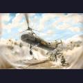 1:48 Italeri 2733 Американский военно-транспортный вертолёт Piasecki H-21C Shawnee