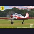 1:48  Modelist  204810 Советский спортивно-тренировочный самолет Як-52