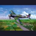 1:48  Trumpeter  02850 Английский истребитель Supermarine Spiteful F.Mk.14
