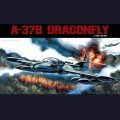 1:72  Academy  12461 Американский легкий штурмовик Cessna A-37B Dragonfly