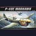 1:72  Academy  12468 Американский истребитель Curtiss P-40E Warhawk