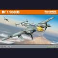 1:72 Eduard 7081  Немецкий тяжёлый истребитель Messerschmitt Bf.110C/D