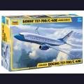 1:144 Звезда 7027 Пассажирский авиалайнер Боинг 737-700 С-40B