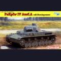 1:35 Dragon 6816 Немецкий средний танк Pz.Kpfw.IV Ausf.A mit Zusatzpanzer