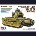 1:35 Tamiya 35355 Английский пехотный танк Matilda Mk.III / IV Советской армии