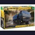 1:35  Zvezda  3697 Российский трехосный грузовик К-5350 «Мустанг»