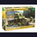 1:35  Zvezda  3542 Советский легкий танк Т-26 (обр. 1932г.)