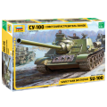 1:35 Zvezda 3688 Советская самоходная артиллерийская установка СУ-100