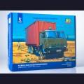 1:43 AVD Models 1420 КАМАЗ-53212 контейнеровоз