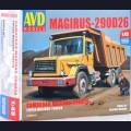 1:43 AVD Models 1286 Самосвал Magirus-290D26K