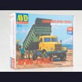 1:43 AVD Models 1342 Самосвал КрАЗ-256Б1