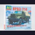 1:43 AVD Models 1343  Бортовой грузовик КрАЗ-214