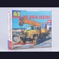 1:43 AVD Models 1368  Автокран КС-3574 (4320)