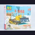 1:43 AVD Models 3012  Гусеничный трактор Т-150Д (с отвалом)