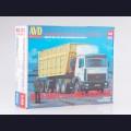 1:43 AVD Models 7040 Седельный тягач МАЗ-6422 с полуприцепом МАЗ-9506-30