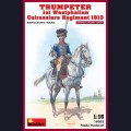 1:16 MiniArt 16033 Трубач 1го Вестфалианского отряда кирассиров 1813г Наполеовские войны
