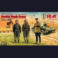 1:35  ICM  35181 Советский танковый экипаж (1939-1942)