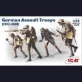 1:35  ICM  35291 Германские штурмовые части (1917 -1918)