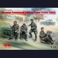 1:35  ICM  35644 Германский экипаж командной машины 1939-1942 г.