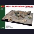 1:35 MiniArt 36058 Орудие ЗиС-3 с расчётом в капонире диорама