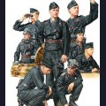 1:35 Tamiya 35354 Немецкие танкисты