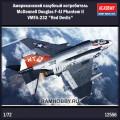1:72 Academy 12556 Американский палубный истребитель McDonnell Douglas F-4J Phantom II VMFA-232