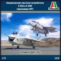 1:72 Italeri 1419 Американские опытные истребителиX-32A и X-35B (программа JSF)