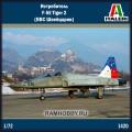 1:72 Italeri 1420 Истребитель F-5E Tiger 2 (ВВС Швейцарии)