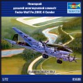 1:72 Trumpeter 01638 Немецкий дальний многоцелевой самолёт Focke-Wulf Fw.200С-4 Condor