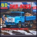 1:43 AVD Models 1260 Бортовой грузовик ЗиЛ-4333