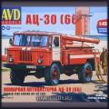 1:43 AVD Models 1378 Пожарная автоцистерна АЦ-30 (66)