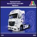 1:24 Italeri 3935 Седельный тягач Mercedes-Benz Actros MP4 GigaSpace