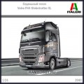 1:24 Italeri 3940 Седельный тягач Volvo FH4 Globetrotter XL