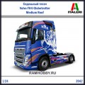 1:24   Italeri   3942 Седельный тягач Volvo FH4 Globetrotter Medium Roof