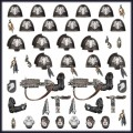 Games Workshop   99070101041   48-56 Raven Guard Primaris Upgrades and Transfers