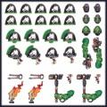 Games Workshop 99070101044 48-59 Salamanders Primaris Upgrades and Transfers