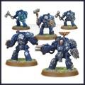 Games Workshop 99120101037 48-34 Space Marines Terminator Close Combat Squad