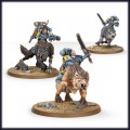 Games Workshop 99120101220 53-09 Space Wolves Thunderwolf Cavalry