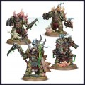 Games Workshop 99120102081 43-57 Death Guard Lord Felthius and the Tainted Cohort (Easy to Build)