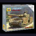 Zvezda 6240 1:100 Немецкий среднийтанк Pz.Kpfw.IV Ausf.H