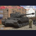1:35  Amusing Hobby  35A023 Pz.Kpfw.VI Tiger(P) with Resin Figure of well know Engineer