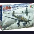 1:48 Italeri 2807 Самолет Junkers JU-87B Stuka