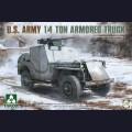 1:35 Takom 2131 Американский Бронеавтомобиль  1/4 Ton Armored Truck