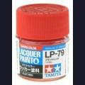 Tamiya 82179 Лаковая краска LP-79 Flat Red 10мл, (МАТОВАЯ КРАСНАЯ)