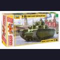 1:35  Zvezda  3667П Советский танк Т-35 подарочный набор