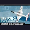 1:72 Academy 12548 Американский палубный истребитель F2H-3 Banshee VF-41