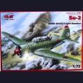 1:72 ICM 72081  Советский фронтовой бомбардировщик Су-2