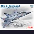 1:72 ICM 72151  Советский истребитель-перехватчик МиГ-31