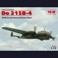 1:72 ICM 72305  Немецкий самолёт-разведчик Dornier Do.215B-4